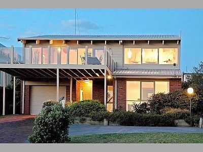 Ocean Grove Beach House with front-facing balcony
