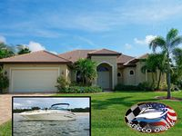 Spacious luxurious Cape Coral Villa. Pool heating incl. boat bookable