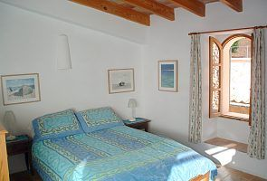 La Casa Dos: Bedroom with adjoining sun terrace