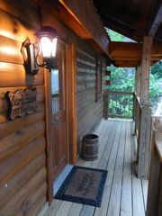 Gatlinburg cabin photo - Front Entry Way