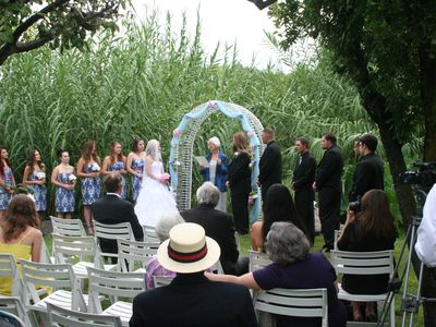 Wedding on Property, Sept. 1, 2012