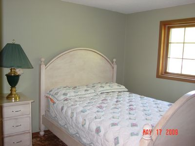 Lake Winnebago house rental - Guest Bedroom with Queen Bed
