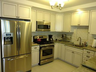 Wildwood Crest condo photo - kitchen with stainless steel appliances and granite counter