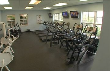 Community Fitness center, free to use for our guests