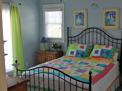 Kure Beach house rental - one of two mid level bedrooms