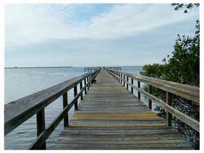 Walk or ride bike to enjoy fishing from 500 Ft. Fishing Pier for residents only.