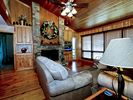 Beautiful Wood Great Room - Gatlinburg condo vacation rental photo
