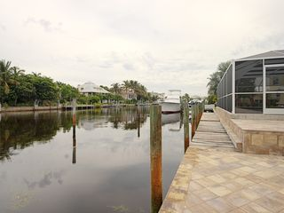 Sanibel Island house photo - Deep Water wide direct access canal to the Gulf of Mexico