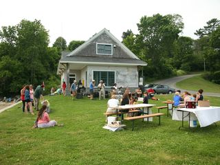 Camden house photo - Enjoy a free concert while you picnic or use the beach