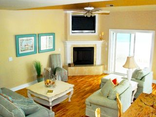 North Topsail Beach house photo - Enjoy the elegance and comfort of this beautiful ocean front home.