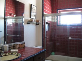 Bluff house photo - Mexican tiled Master bath
