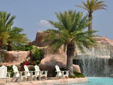 Wave pool at the Oasis