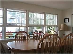 Dining Room With Ocean and Pond Views - Seats Eight