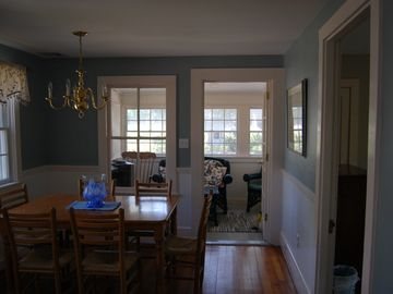 Dining Area leading to Sunroom