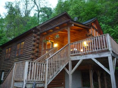 Beardise cabin offers privacy and convenience