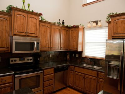Kitchen - Main Level, Stainless Steel Appliances, Large Refrigerator