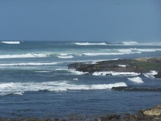 Las Gaviotas house photo - The waves!