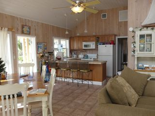 Elbow Cay and Hope Town house photo - House with 3 beds 3 baths & apartment on ground fl