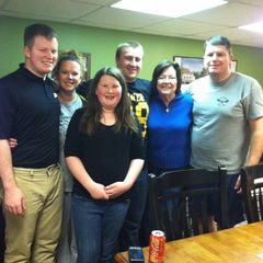 West Point lodge photo - Meet Our Guests! Cadet Tyler Hudson Class of 2015 with his family!