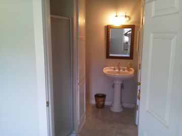 One of the on-suite bathroom upstairs.