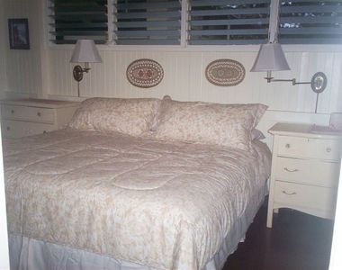 King Size Bed in Front bedroom