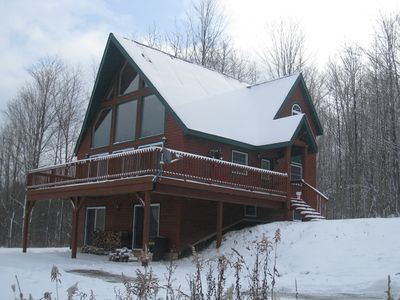 Relaxing winter chalet...