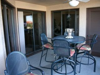 Shelter Cove condo photo - Large Balcony Overlooking Harbor