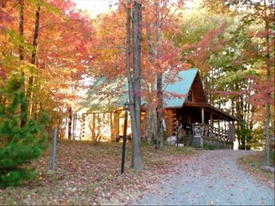 Fall Foliage at Spencer Cabin
