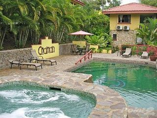 Manuel Antonio villa photo - Pool is just steps from your door