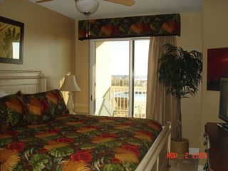 Fort Walton Beach condo photo - Luxurious Master Bedroom with 32 inch screen TV