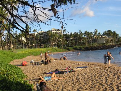 Wailea's Ulua Beach is great for snorkeling and scuba diving