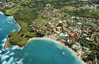 Puerto Plata villa photo - Aerial view of this beautiful resort.