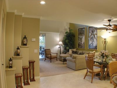 Mauna Lani condo rental - Open, Spacious, Elegant Living Areas