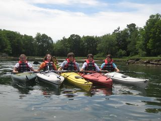Kennebunk house photo - A beautiful day for kayaking.