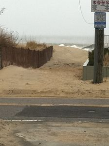 Beach access across the street!