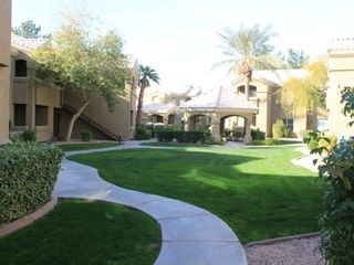 Scottsdale North condo photo - Views of the large green space and gazebo area which the patio overlooks.