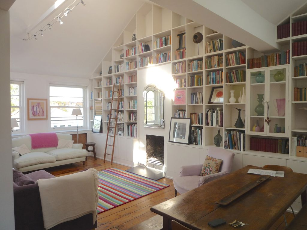 filled loft conversion in the heart of notting hill in central london