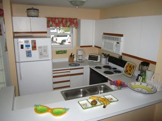 Key West condo photo - The kitchen with all the gadgets for your cooking needs.