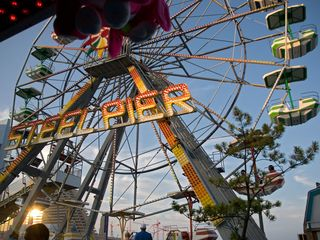 Atlantic City townhome photo - Steel Pier Amusement Part on the Atlantic City Boardwalk! Just minutes away!
