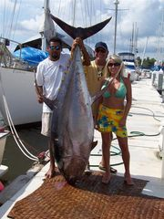 La Cruz de Huanacaxtle house photo - Fish with the Osuna Brothers and you may catch tuna, dorado, marlin, or sailfish