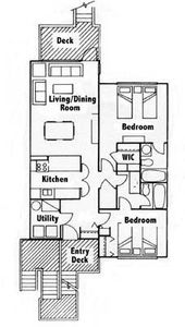 Unit Floorplan (actual is reversed)