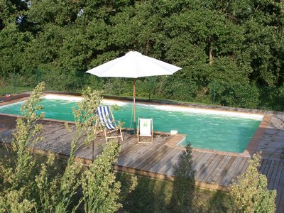 Au Pin private swimming pool by the forest