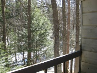 North Conway condo photo - view from back deck