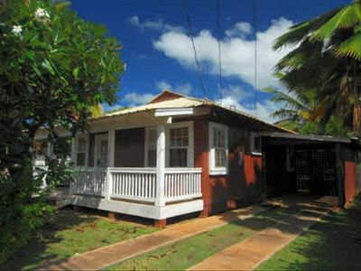 Kekaha house rental - Private driveway & covered carport