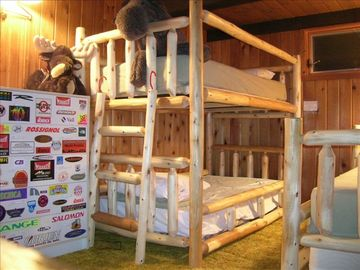 Cozy bunk room in the loft