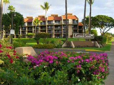 Entrance to Kamaole Beach Resort
