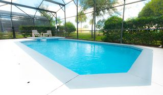 Glenbrook Resort villa photo - Large extended sundeck lots of room for those loungers