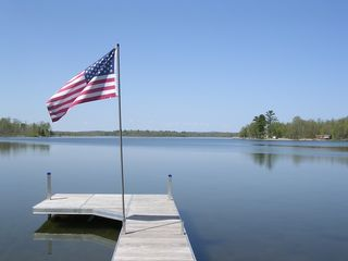 Longville cabin photo - Sunny day on the dock