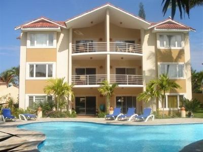 Cabarete condo rental - Outside of building - Condo on 2nd Floor Left