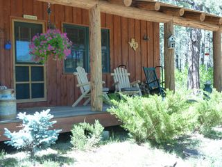 Pagosa Springs cabin photo - Relaxing Front Porch of cabin